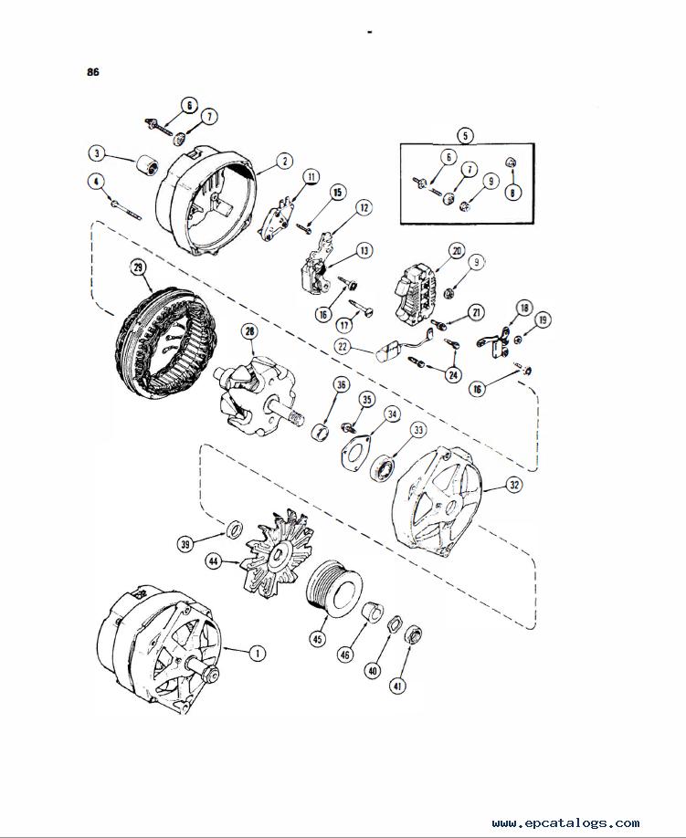 Case 580E 580S Loader Service & Operator's & Parts PDF
