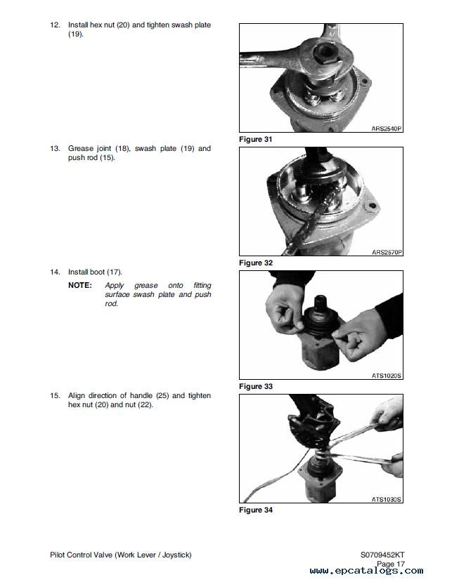 Terex TXC470/500LC-1 Hydraulic Excavator Shop Manual PDF