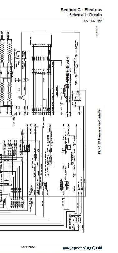 JCB Wheeled Loading Shovels 427 437 457 Service PDF