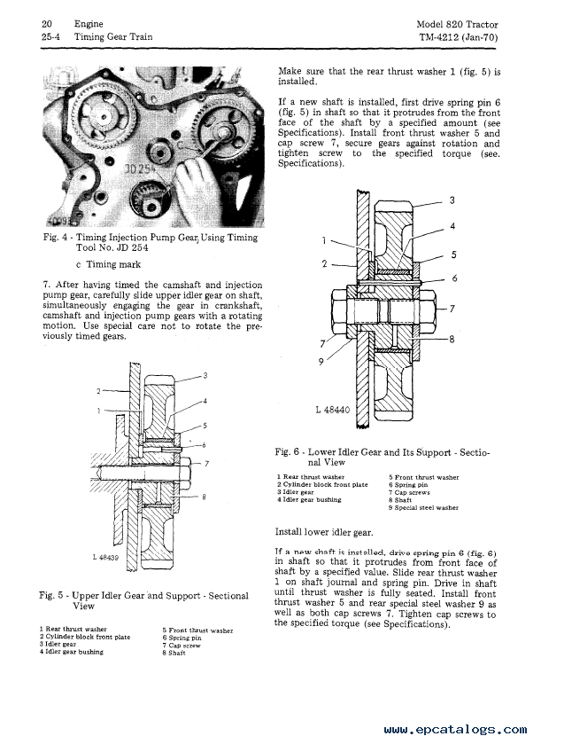 John Deere 820 Tractor TM4212 Technical Manual PDF
