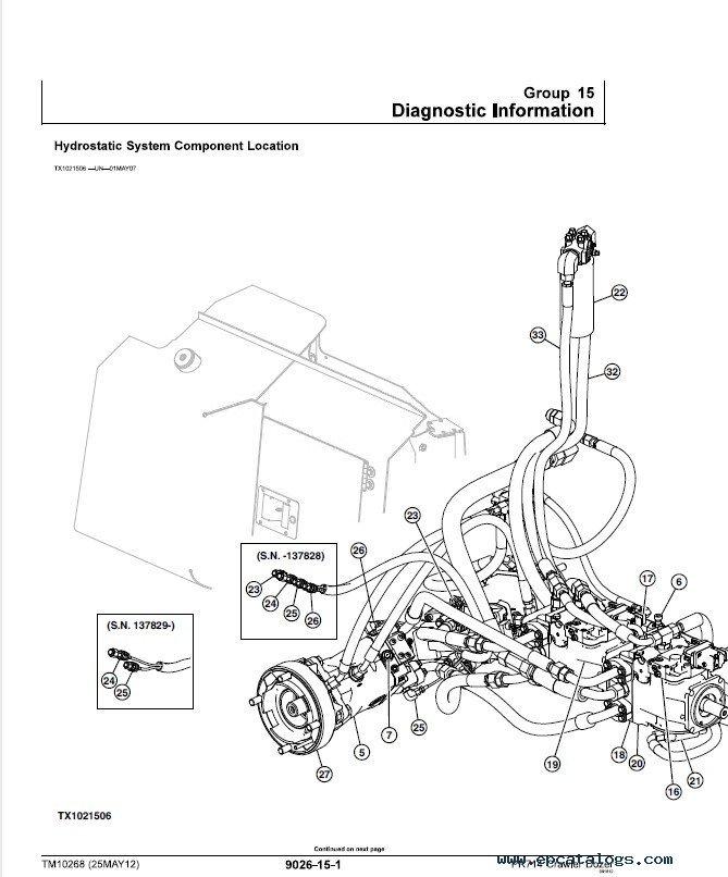 Liebherr Crawler Dozers 714 Series 4 Service Manual PDF