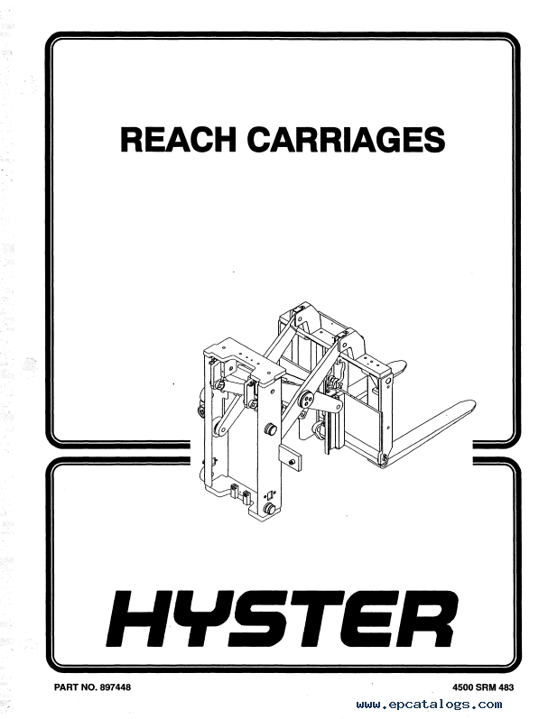 Hyster Class 3 A455 Electric Motor Hand Trucks PDF Manual