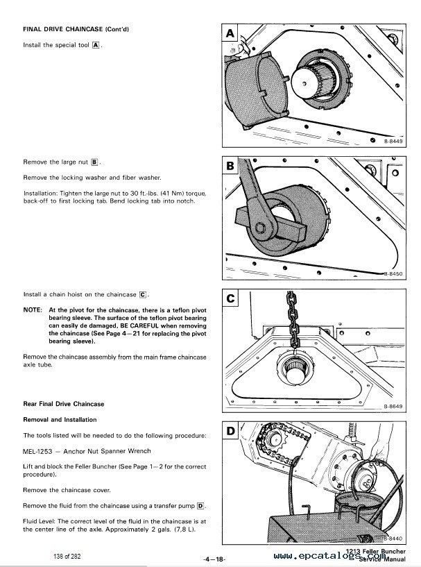 Bobcat 1213 Loader Service Manual PDF