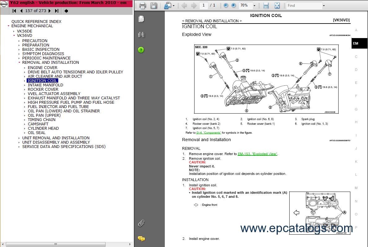 nissan patrol wiring diagram travel trailer light 2011 gr y62 repair manual download