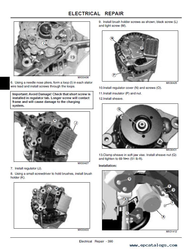 John Deere Gator Starter Wiring Diagram John Circuit Diagrams