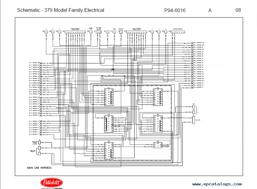 Peterbilt 386 Engine Wiring Schematic. Peterbilt Engine