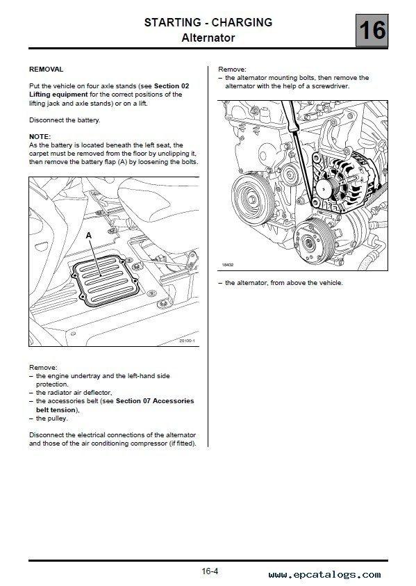 Nissan Primastar Model X83 2001-2014 Service Manual PDF