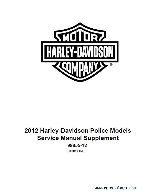 Download Harley Davidson Touring Models 2012 PDF Manuals