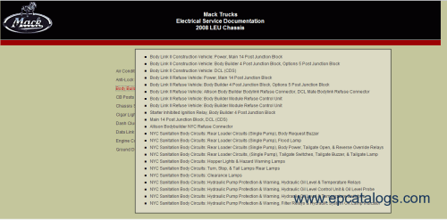 small resolution of mack trucks electrical service documentation 2