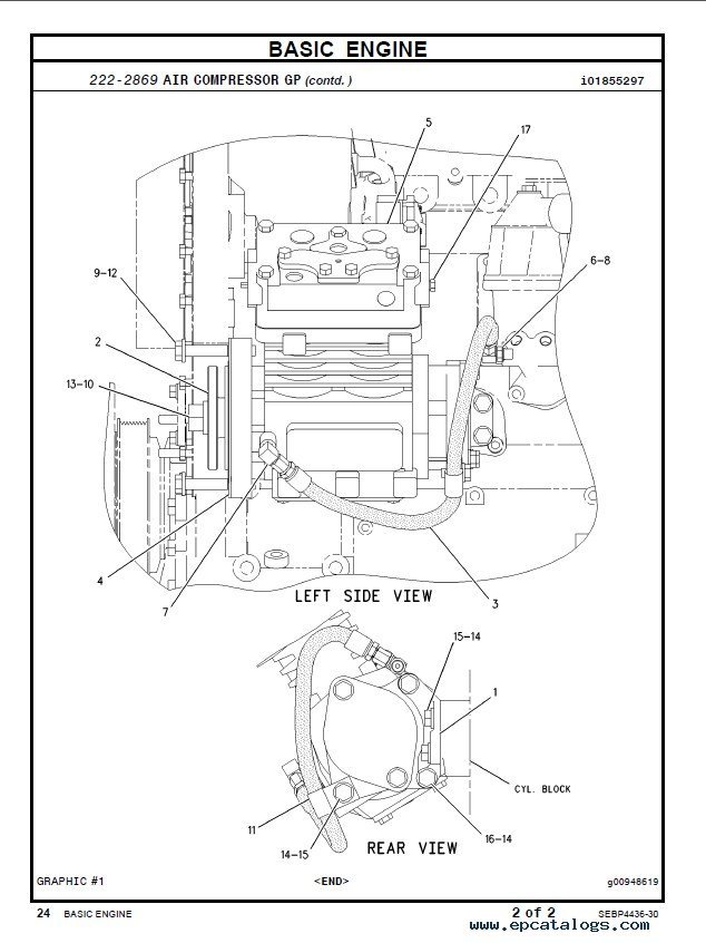 C7 Cat Engine Breakdown Diagrams Cat C9 Engine Diagram
