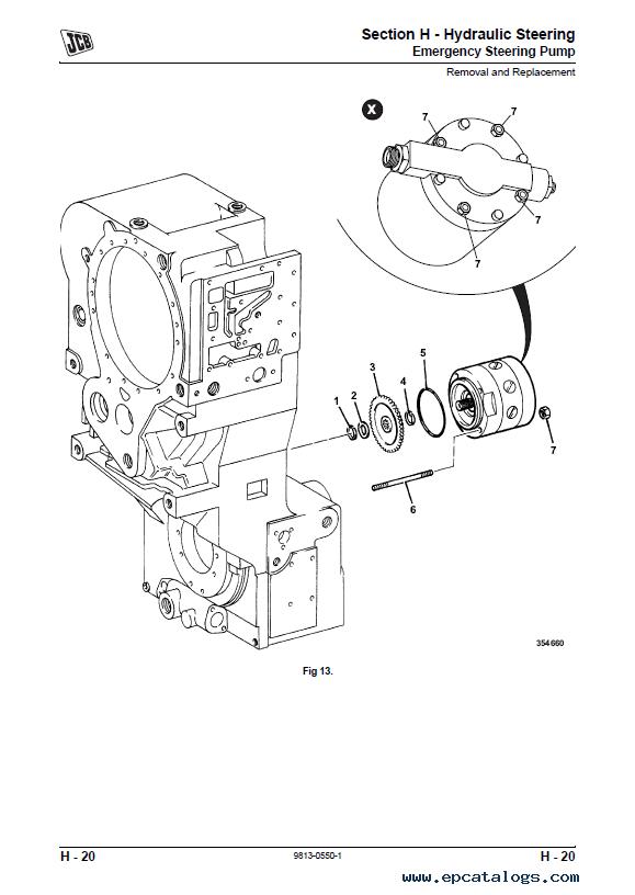 JCB Articulated Dump Truck 714 718 PDF Service Manuals