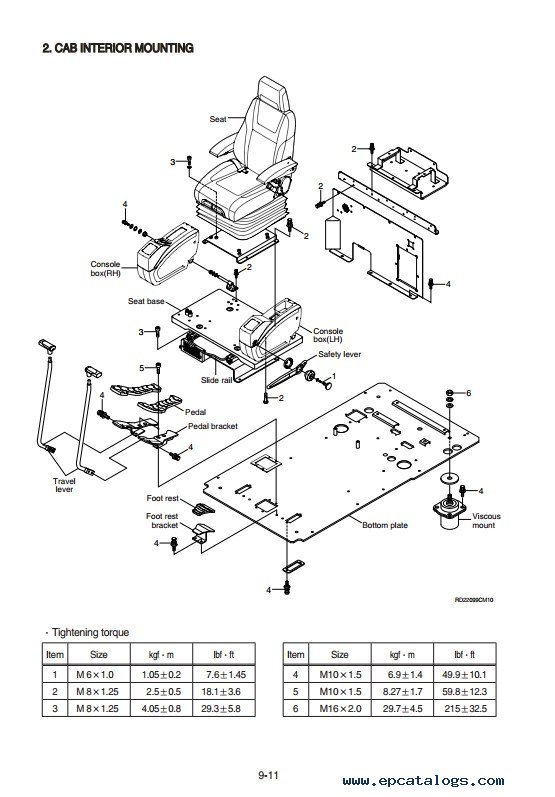 Hyundai R220LC-9 Crawler Excavator Service Manual PDF Download