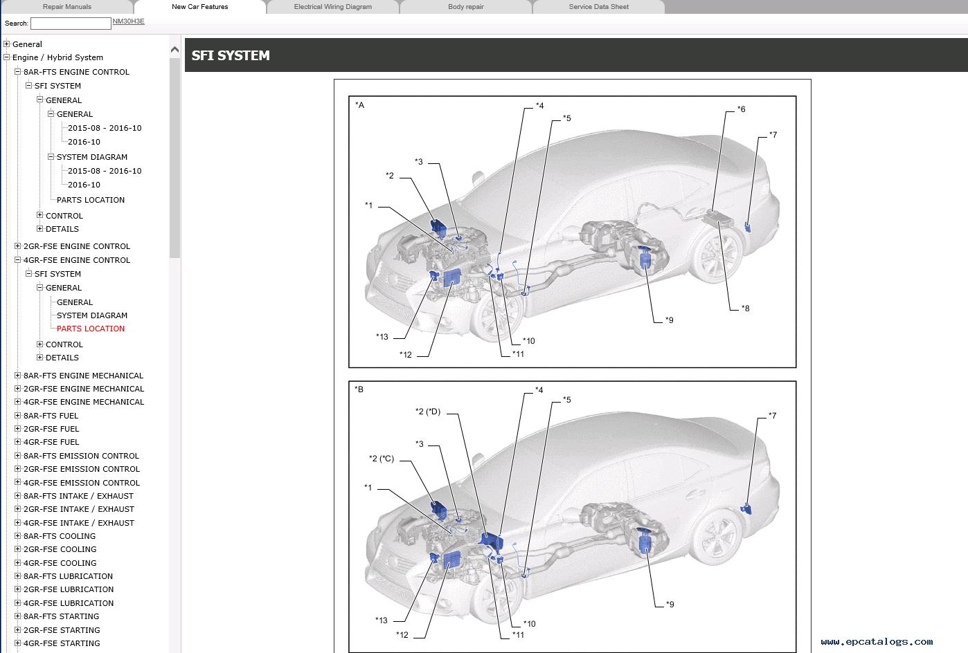 Lexu Repair Manual 1995 Lexus Es300 Service Fuse Box Diagram Hight Resolution Of Is200t Is250 04 2013 2