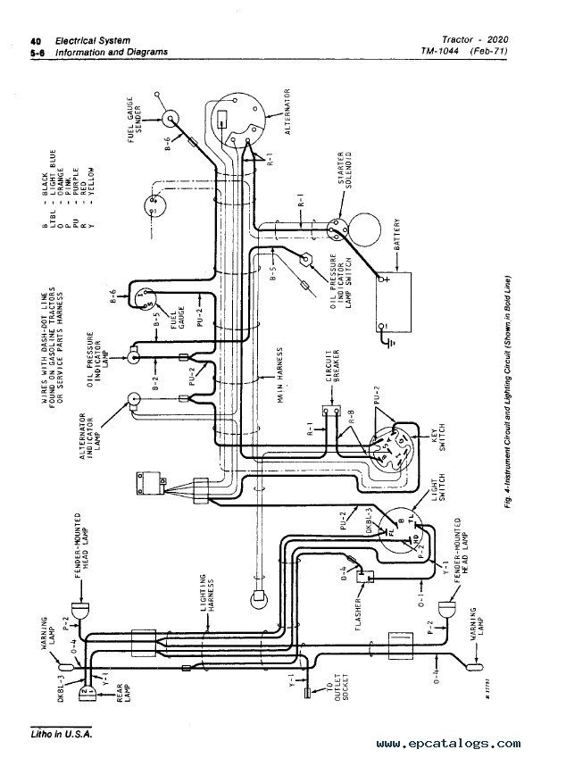 John Deere 2020 Wiring Harness : 30 Wiring Diagram Images