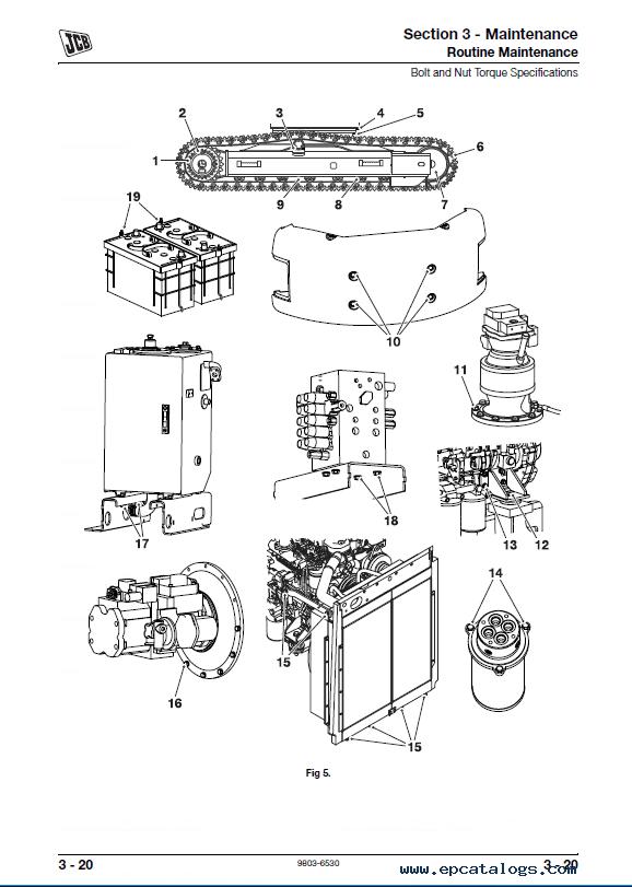 Download JCB Excavator JZ 140 ZTS Service Manual PDF