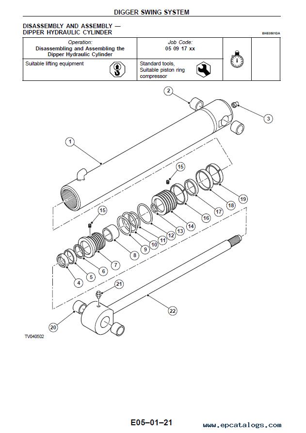 Terex TX760B-TX980B, 820/860/980 Loaders Workshop Manual PDF