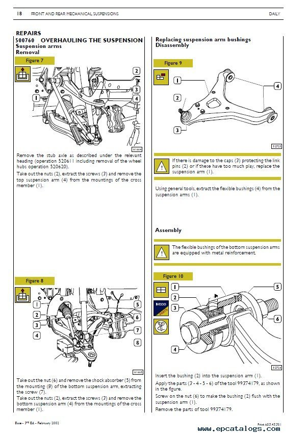 Ac Condenser Fan Wiring Diagram Iveco Daily Repair Manual Mechanical Electrical Electronic Pdf