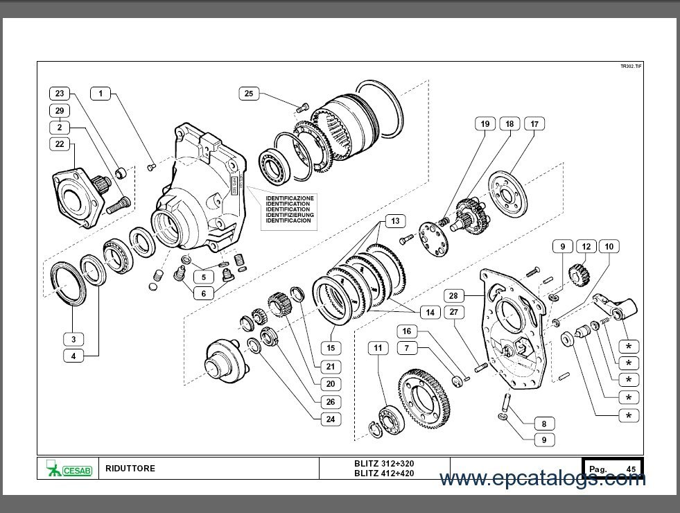 CESAB Spare Parts Catalog Download