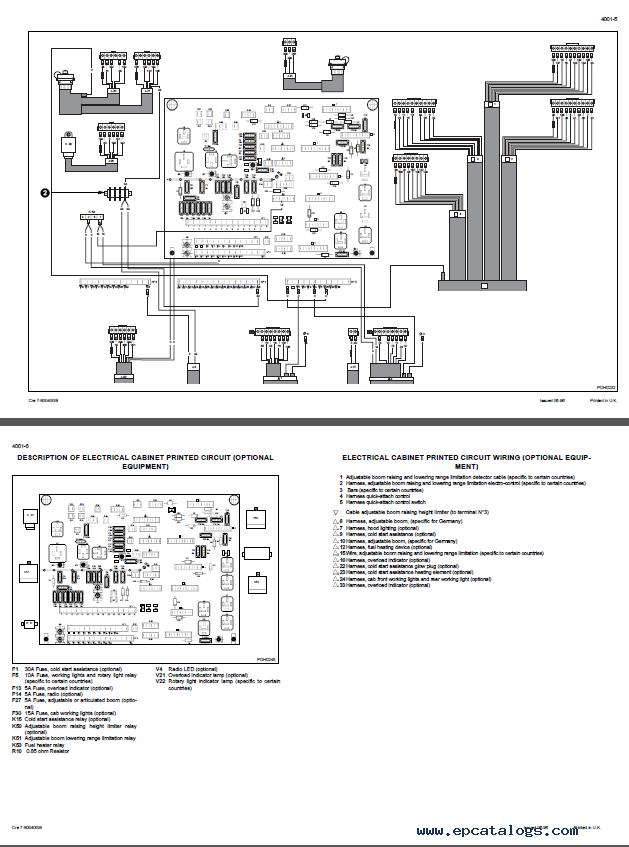 Downlpad Case 788-988 Hydraulic Excavators Schematic PDF