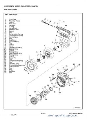 Bobcat S175 Skid Steer Loader Service Manual PDF, repair