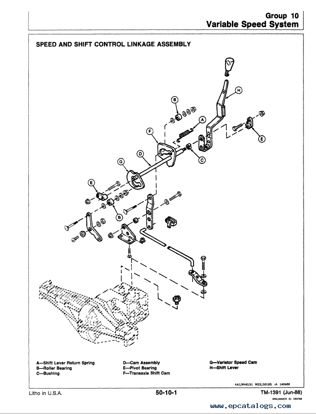 John Deere RX SX Series Riding Mowers TM1391 PDF Manual