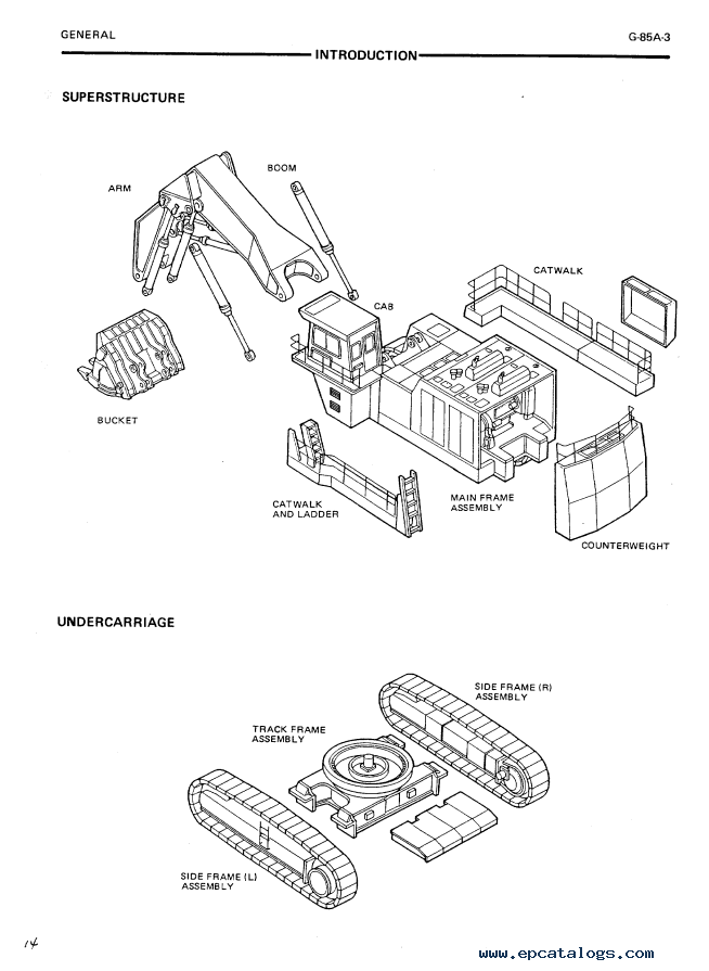 Hitachi EX1800-2 Excavator Service Manual PDF