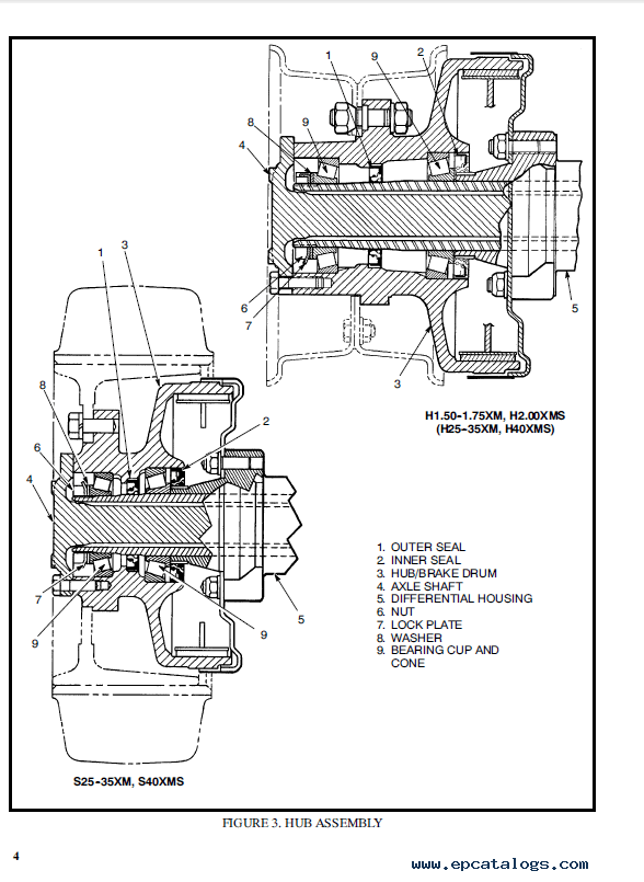 Hyster Class 5 D005 H60-110E Combustion Engine Trucks PDF