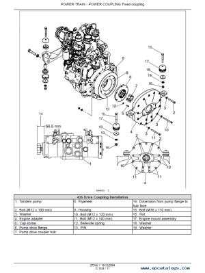 Case 435 & 445 Skid Steer Tier II Engine Repair Manual PDF