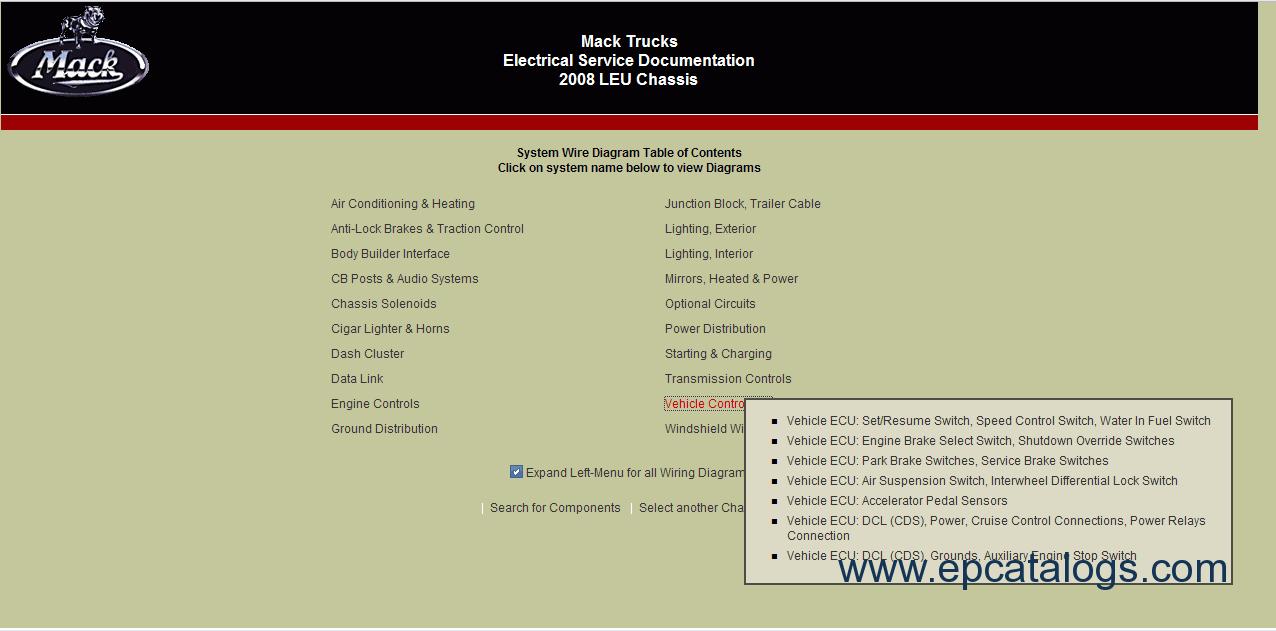 hight resolution of mack trucks electrical service documentation 4