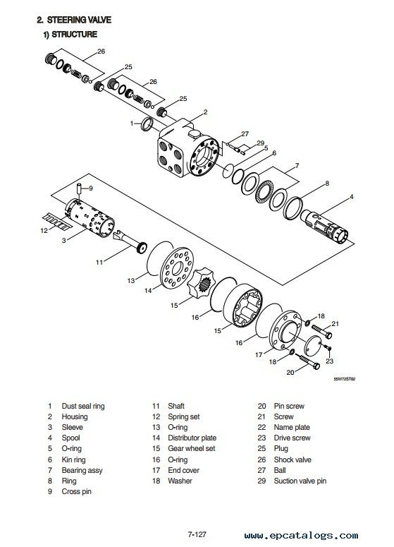 Hyundai R55W-9 Wheel Excavator Service Manual PDF Download