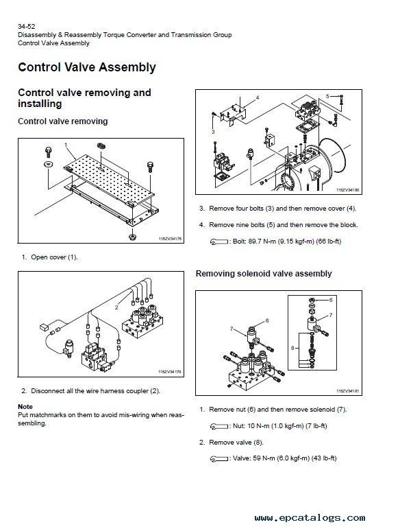 Download Hitachi Wheel Loader ZW550-G Workshop Manual