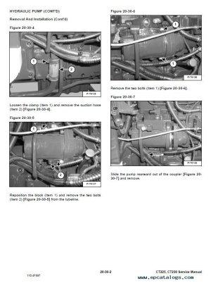 Bobcat CT225, CT230 Compact Tractors Service Manual PDF