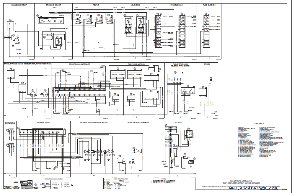Case 650K/Tier II 750K/Tier II 850K/Tier II Crawler PDF