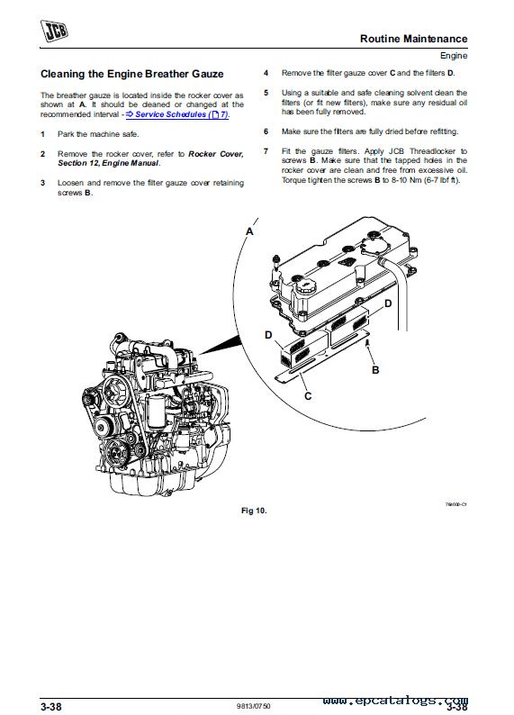 Download JCB Vibromax VMT860 Tier 3 Roller Service Manuals