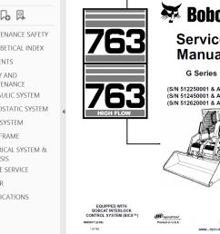 repair manual bobcat 763 763 high flow loaders g series service manual pdf 2 [ 1021 x 789 Pixel ]