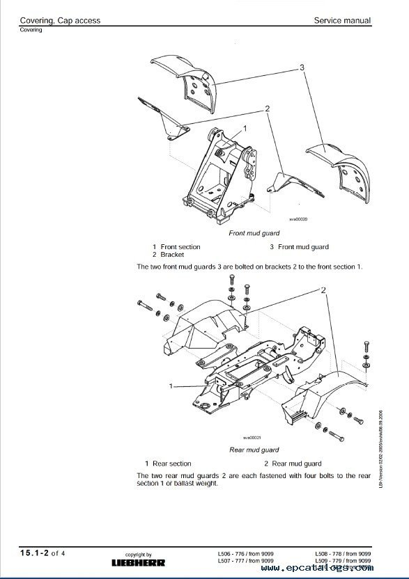 Liebherr L506-L510 Stereo Wheel Loader Service Manual PDF