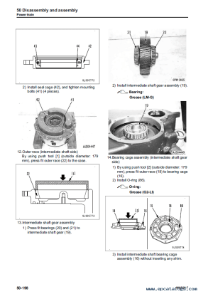 Komatsu Wheel Loader WA5007 Shop Manual PDF