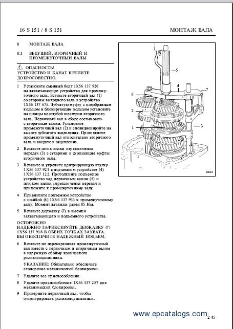 ZF Service Manual Trucks