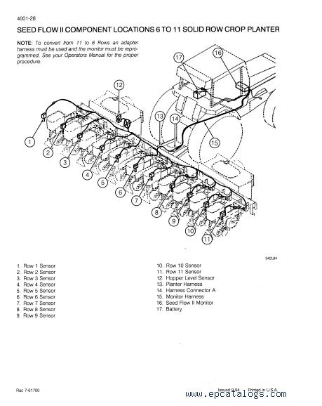 CASE 950 series Planters PDF Service Manual
