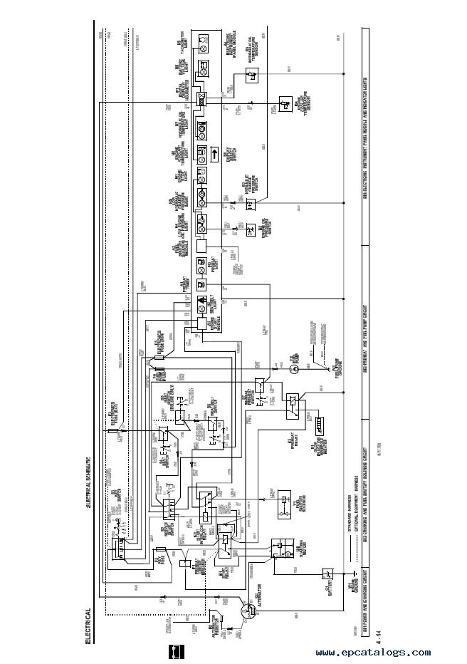 john deere 8875 skid steer wiring diagram
