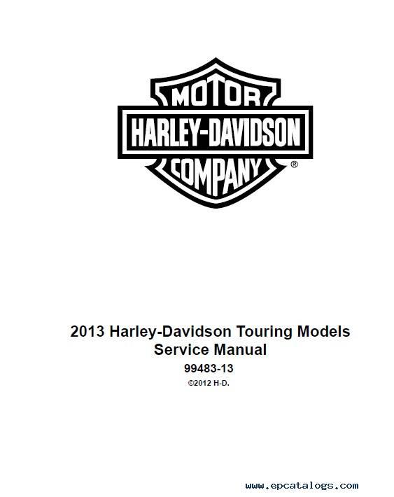 Harley Davidson Touring 2013 Diagnostics Service Manual pdf