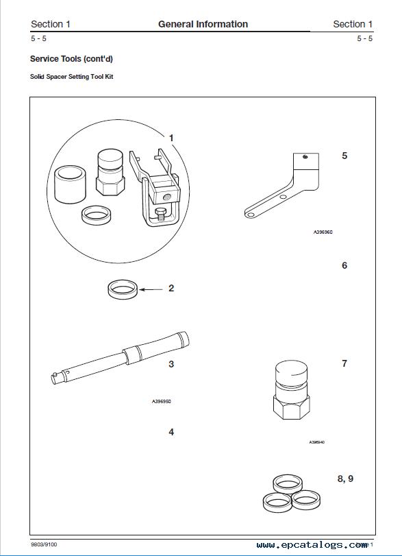 Download JCB PD70 Series Axles Service Manual PDF