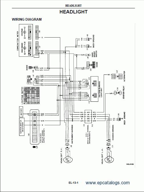nissan xterra haynes wiring diagram