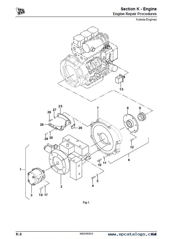 JCB Vibromax VMT160, VMT260 Tier 2/4 Service Manual PDF