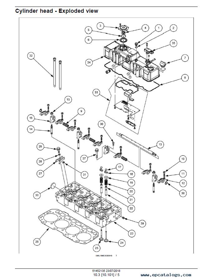 New Holland E60C Mini Excavator Download PDF Service Manual