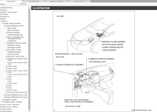 small resolution of repair manual toyota avensis petrol azt270 zrt270 271 272 repair manual rm11r3