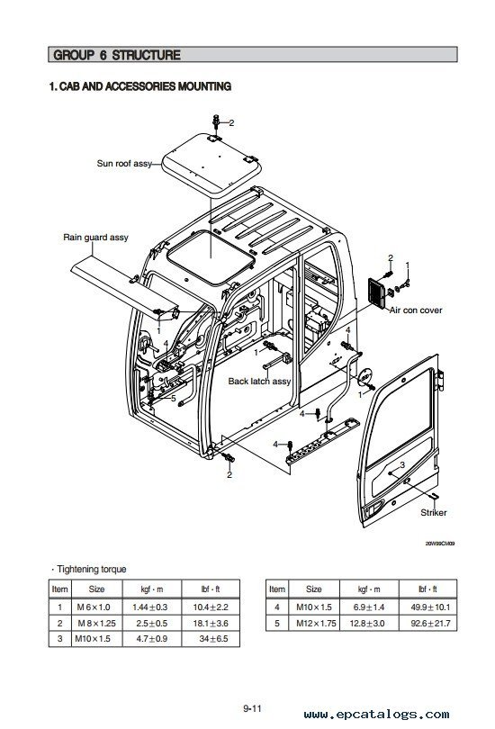 Hyundai R210W-9 Wheel Excavator Service Manual PDF Download