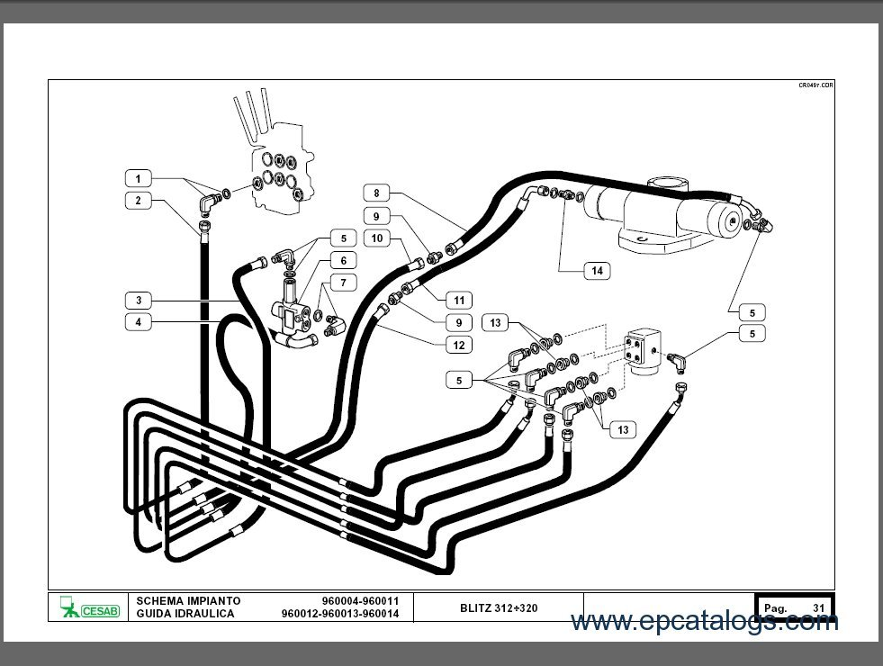 CESAB Spare Parts Catalog Download