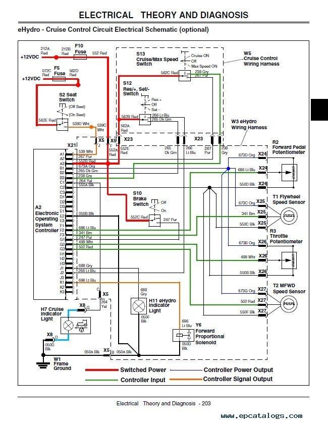 John Deere 4500 Wiring Diagram - Wiring Diagrams Lol on