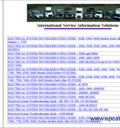 international truck isis repair manual buy international truck isis 2012 repair manual trucks buses 2003 international 4300 wiring  [ 1279 x 855 Pixel ]